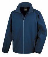 NAVY RESULT SOFT-SHELL JACKET
